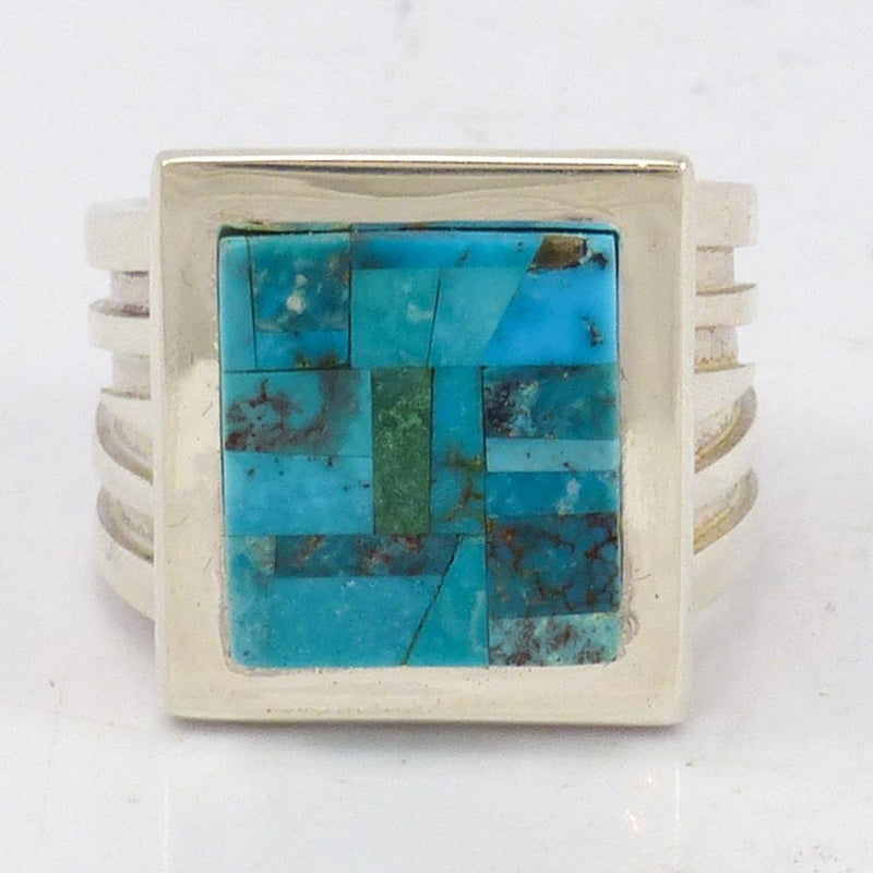 Inlaid Turquoise Ring