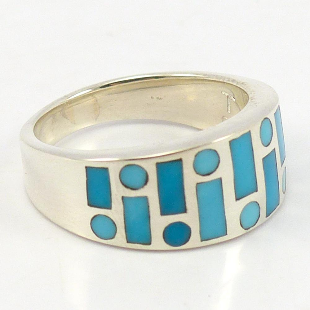 Turquoise Code Talker Ring