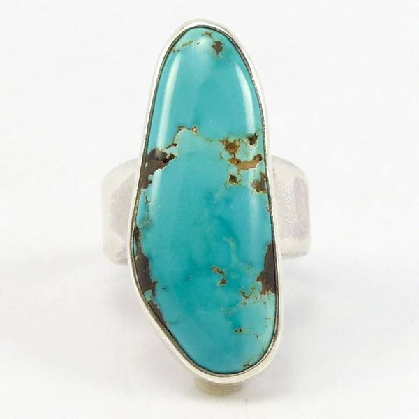 August Blue Turquoise Ring