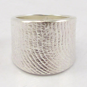 Cast Silver Ring