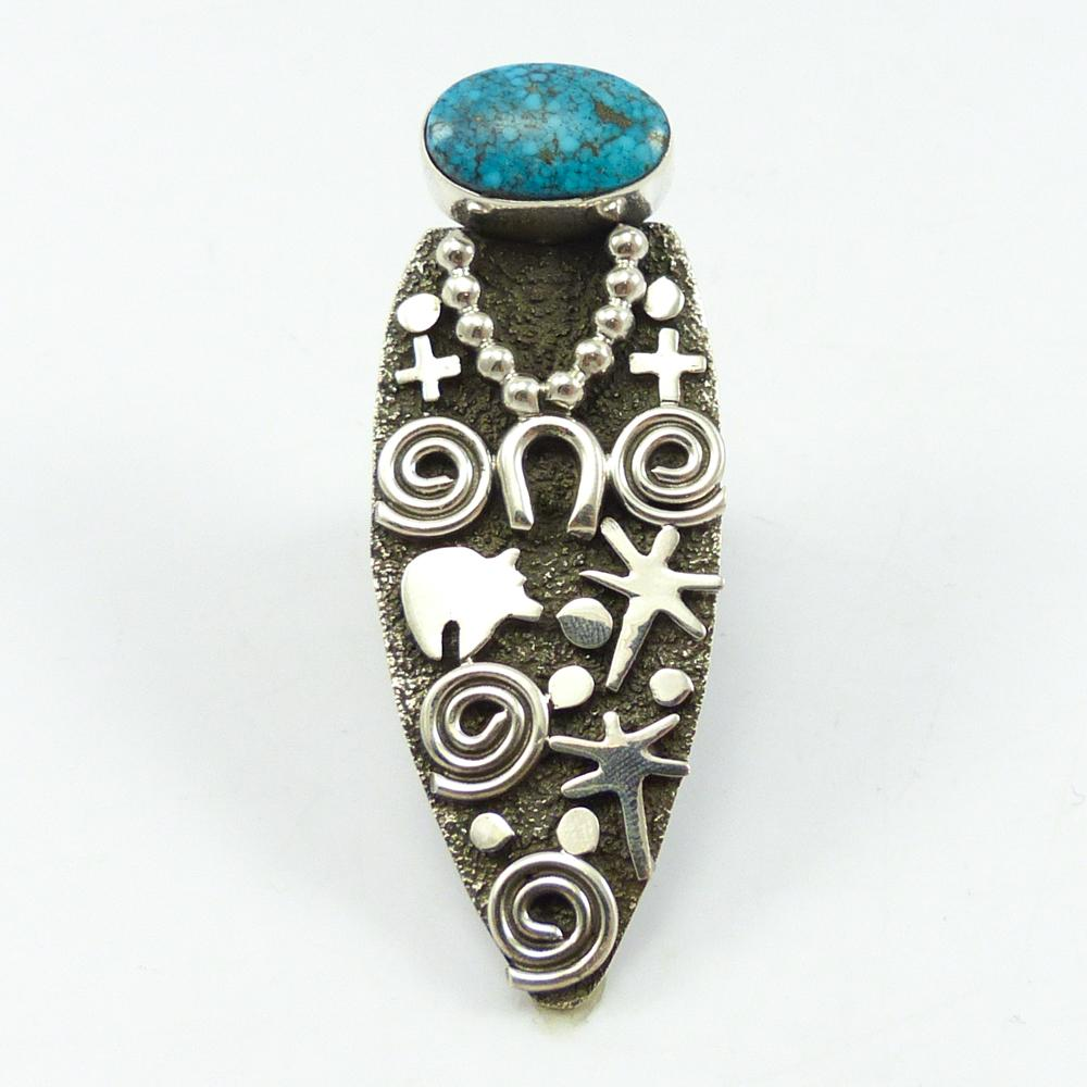 Turquoise Grandmother Ring