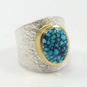 Blue Moon Turquoise Ring