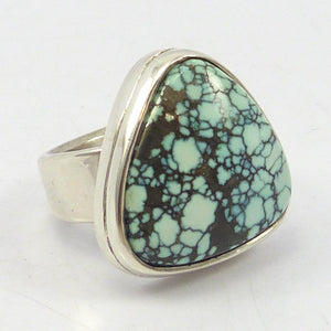 Black Widow Turquoise Ring