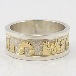 Gold and Silver Stoyteller Ring