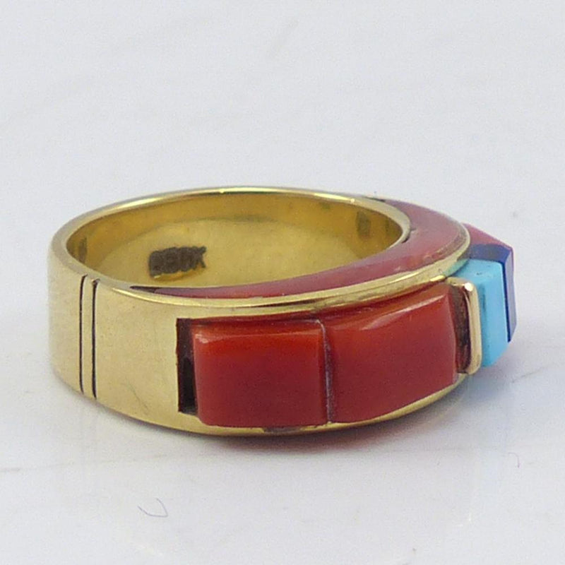Gold Inlay Ring