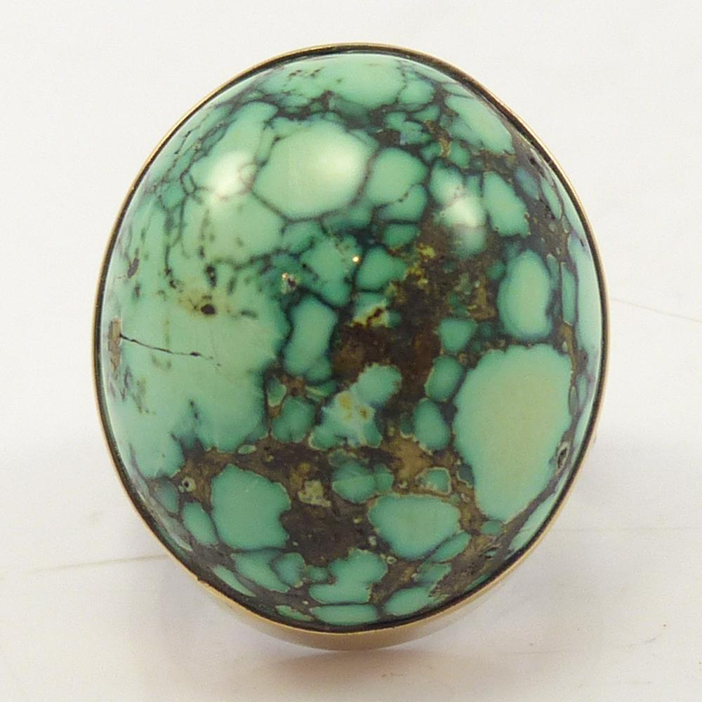 Royal Peacock Turquoise Ring