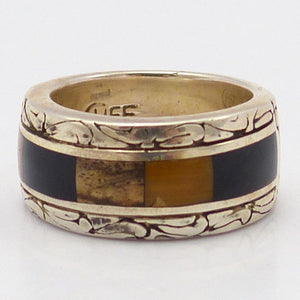 Mosaic Inlay Ring