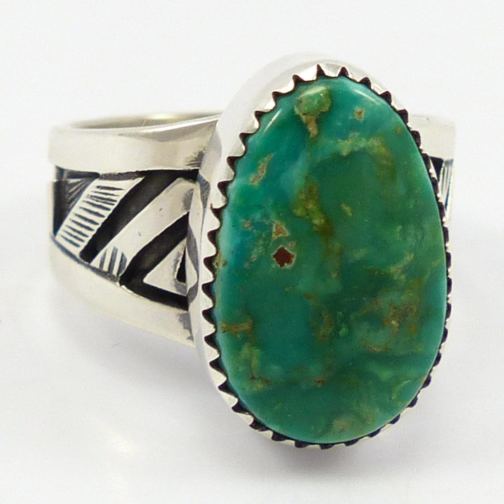 Stormy Mountain Turquoise Ring