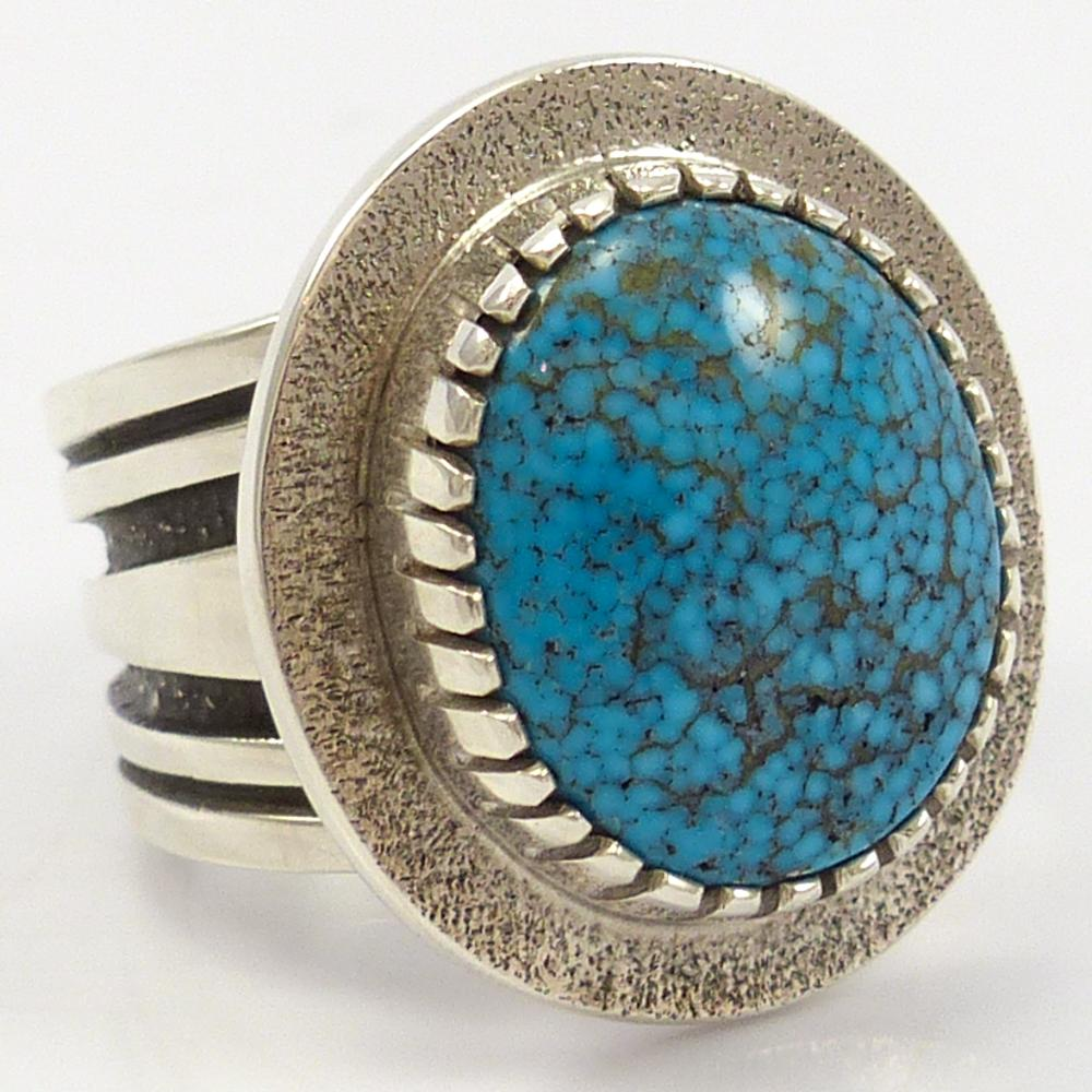 Waterweb Kingman Turquoise Ring