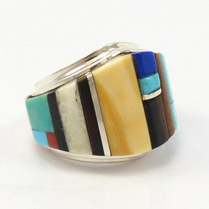 Cobble Inlay Ring