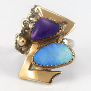 Sugilite and Opal Ring - Jewelry - Lauren Renee - 1