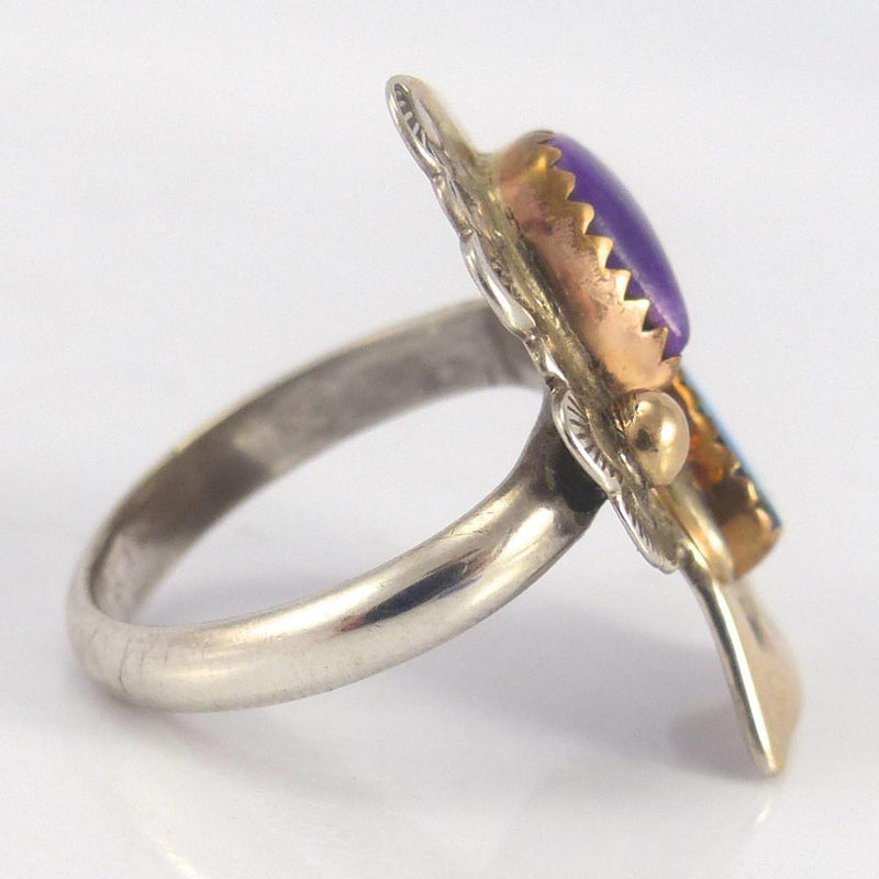 Sugilite and Opal Ring - Jewelry - Lauren Renee - 3
