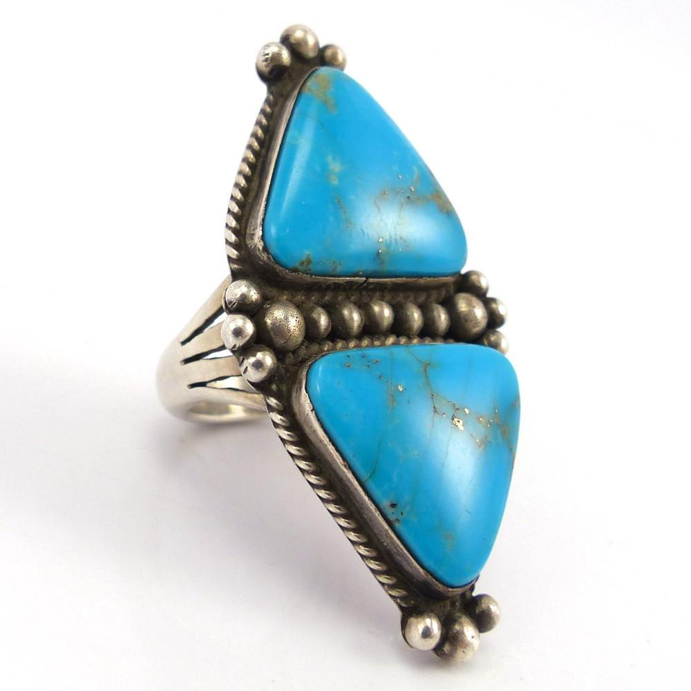 Turquoise Ring, Michael Chavez, Jewelry, Garland's Indian Jewelry
