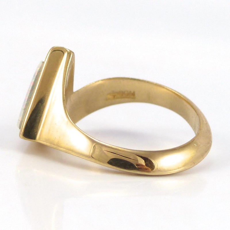 Gold Inlay Ring - Jewelry - Rose Ann Lee - 4