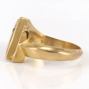 Gold Inlay Ring - Jewelry - Rose Ann Lee - 1
