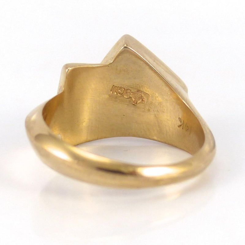 Gold Inlay Ring - Jewelry - Rose Ann Lee - 5