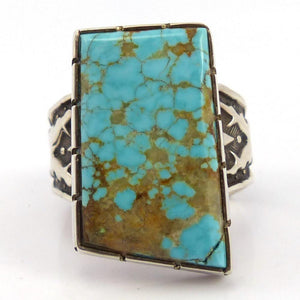 Number Eight Turquoise Ring, Philbert Begay, Jewelry, Garland's Indian Jewelry