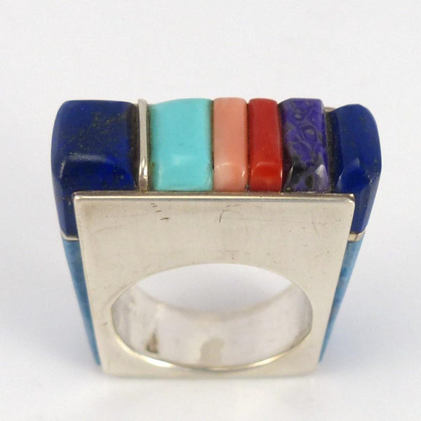 Cobbled Inlay Ring