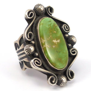 Turquoise Ring, Leon Martinez, Jewelry, Garland's Indian Jewelry