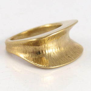 Hammered Gold Ring - Jewelry - Duane Maktima - 1