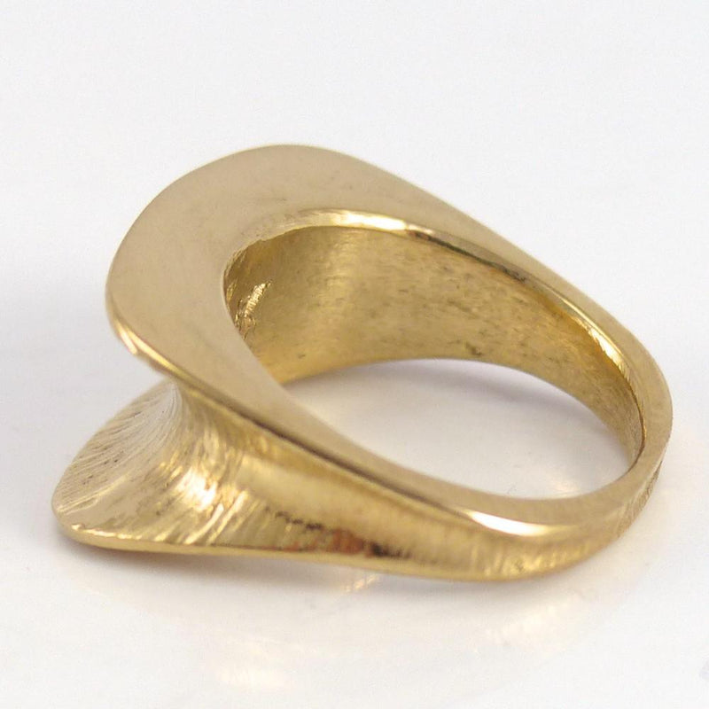 Hammered Gold Ring - Jewelry - Duane Maktima - 3