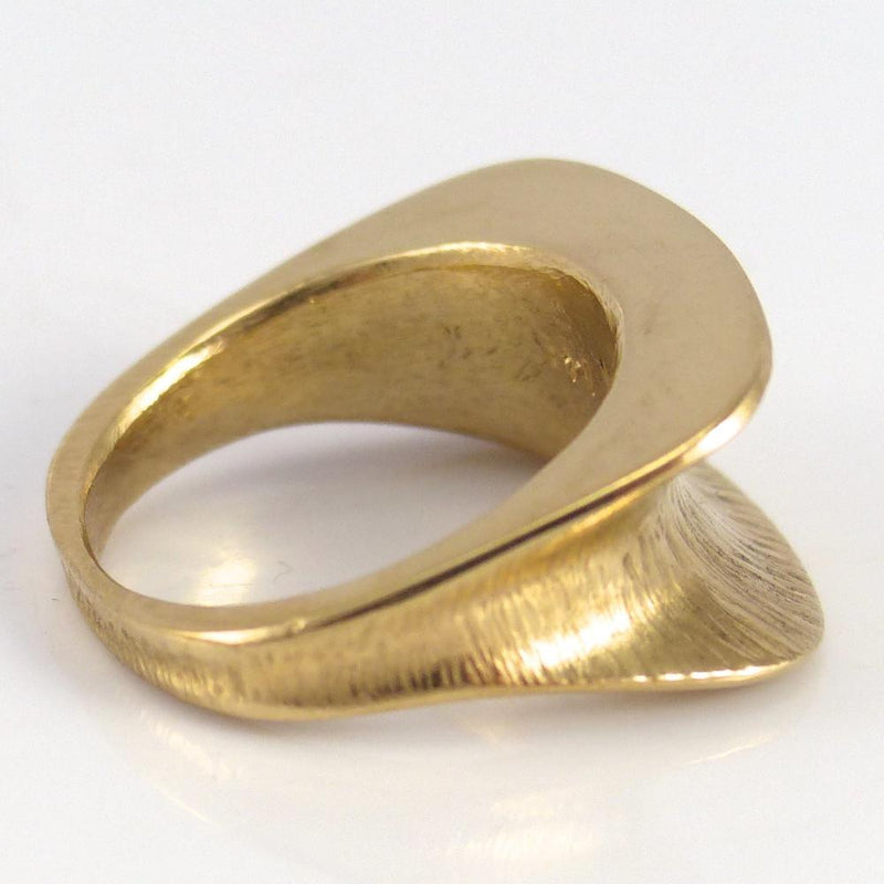 Hammered Gold Ring - Jewelry - Duane Maktima - 4