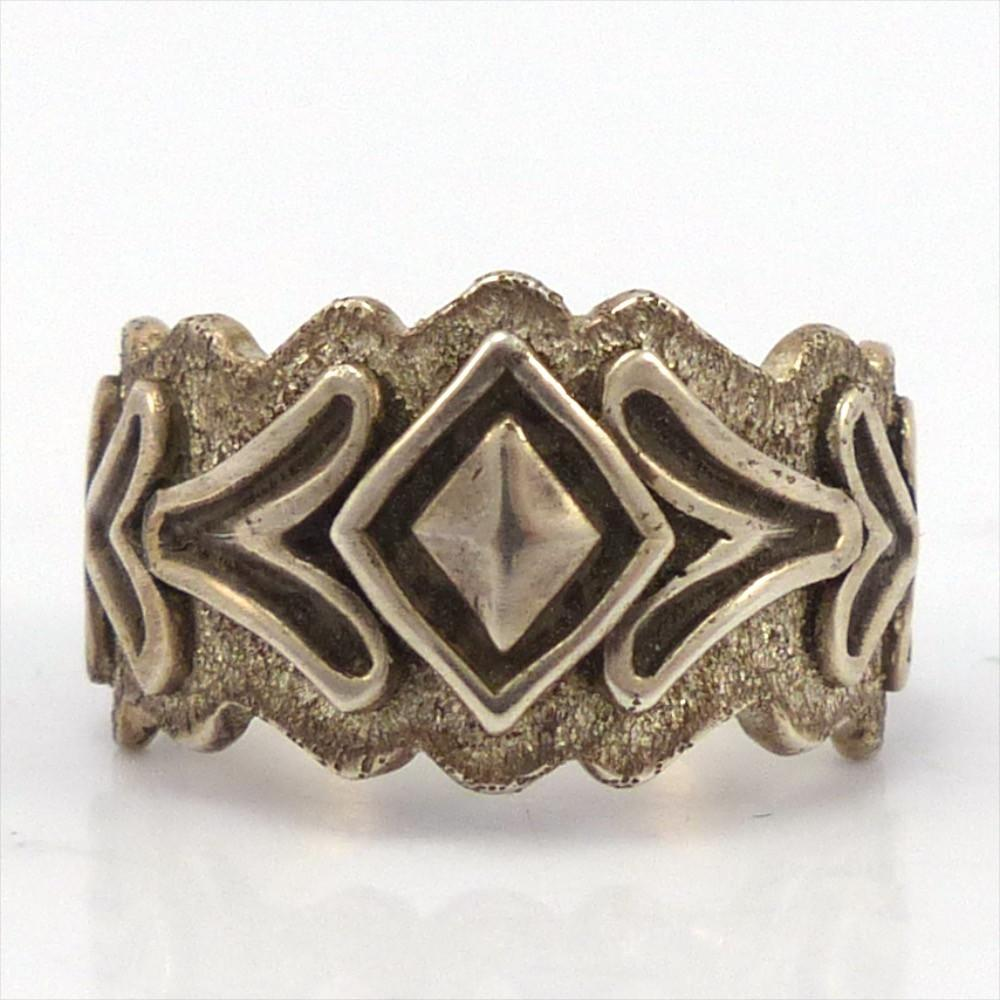 Silver Ring, Thomas Jim, Jewelry, Garland's Indian Jewelry