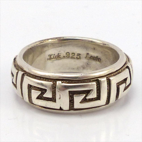 Silver Spinner Ring, Melanie and Michael Lente, Jewelry, Garland's Indian Jewelry