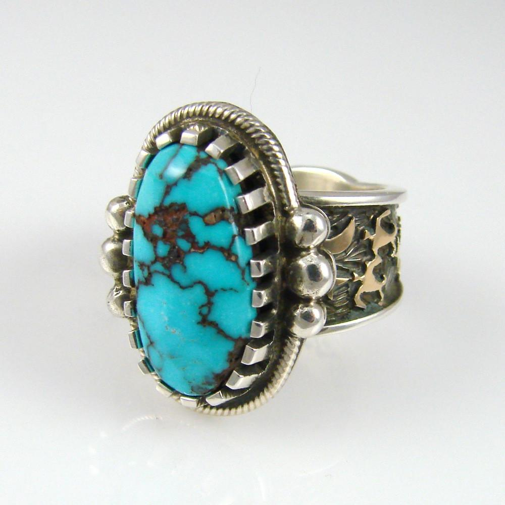 Candelaria Turquoise Ring - Jewelry - Arland Ben - 1