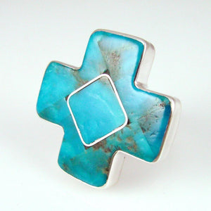 Adjustable Turquoise Ring - Jewelry - Rodney Coriz - 1