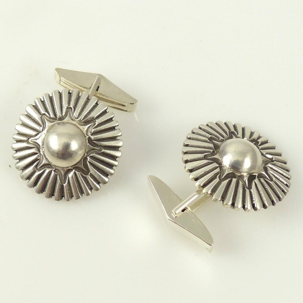Silver Cuff Links - Jewelry - Thomas Jim