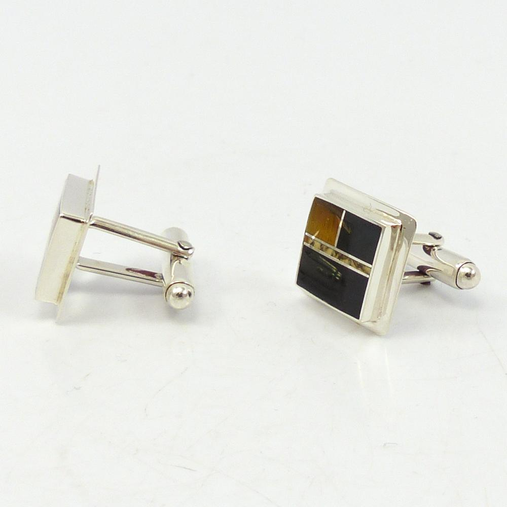 Inlay Cuff Links