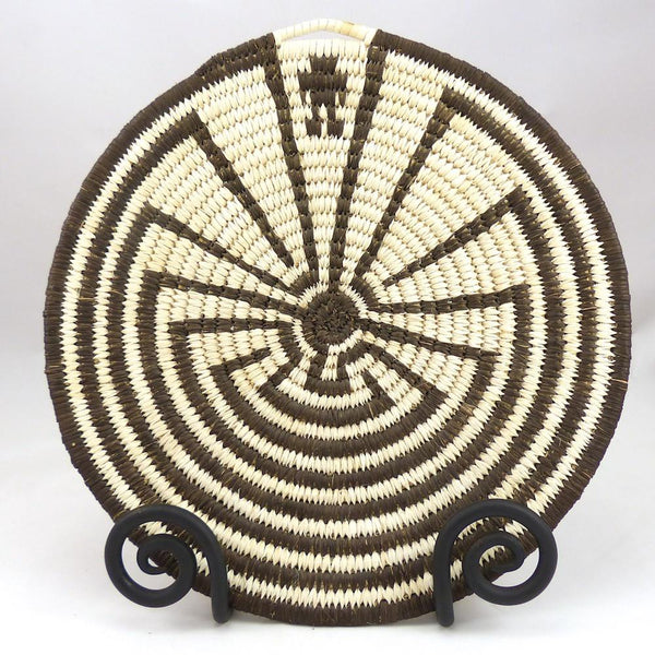 Man in the Maze Basket, Kathleen Tashquinith, Baskets, Garland's Indian Jewelry