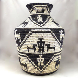 Large Olla Basket, Sally Black, Baskets, Garland's Indian Jewelry