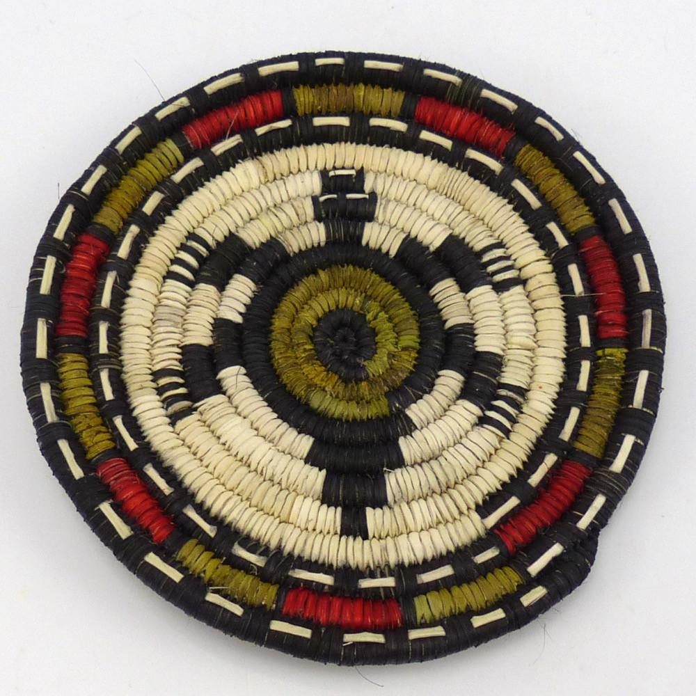 Turtle Plaque, Petra Lamson, Baskets, Garland's Indian Jewelry