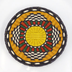 Hopi Plaque, Caroline Fred, Baskets, Garland's Indian Jewelry