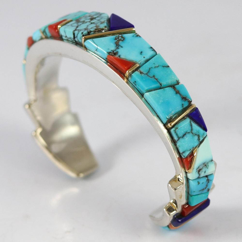Cobble Inlay Cuff