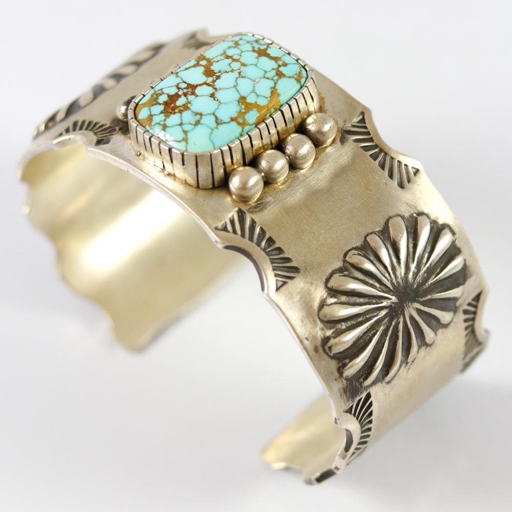 Number Eight Turquoise Cuff