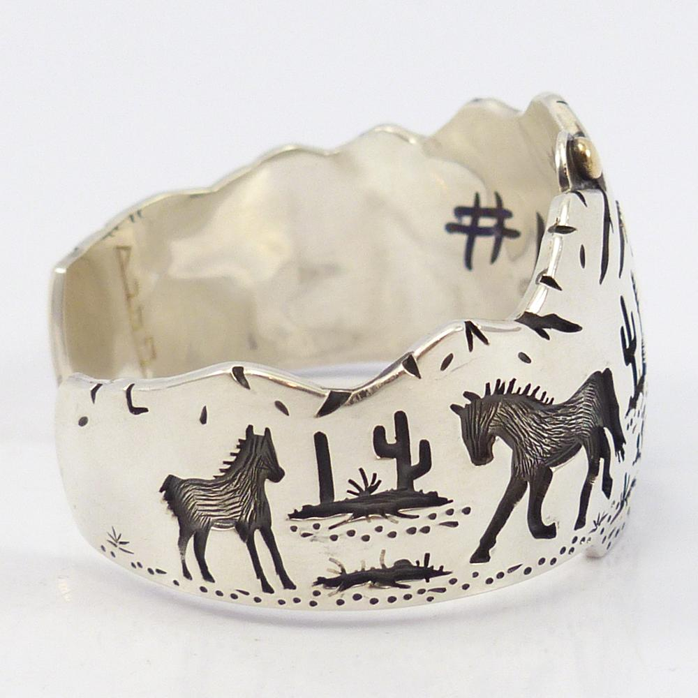 Mountain Edge Cuff