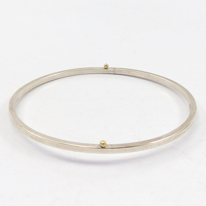 Gold and Silver Bangle