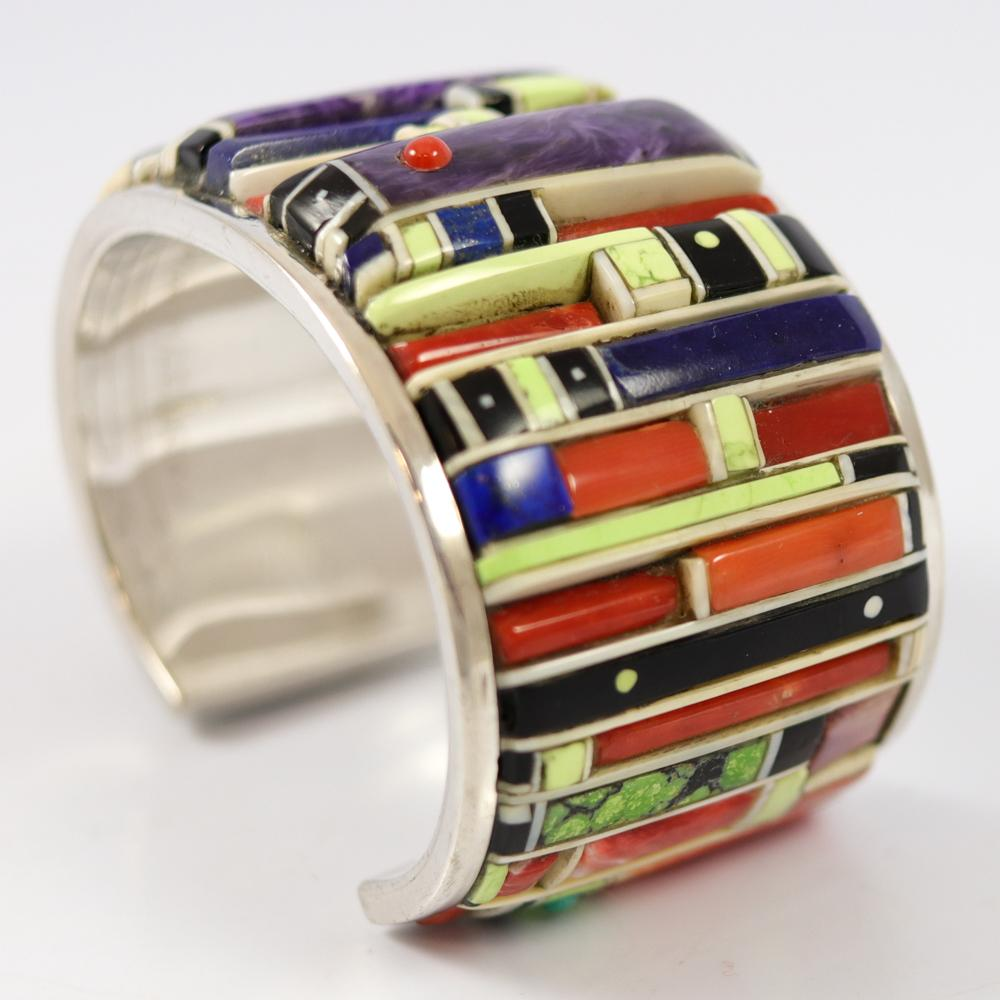 Cobbled Inlay Cuff