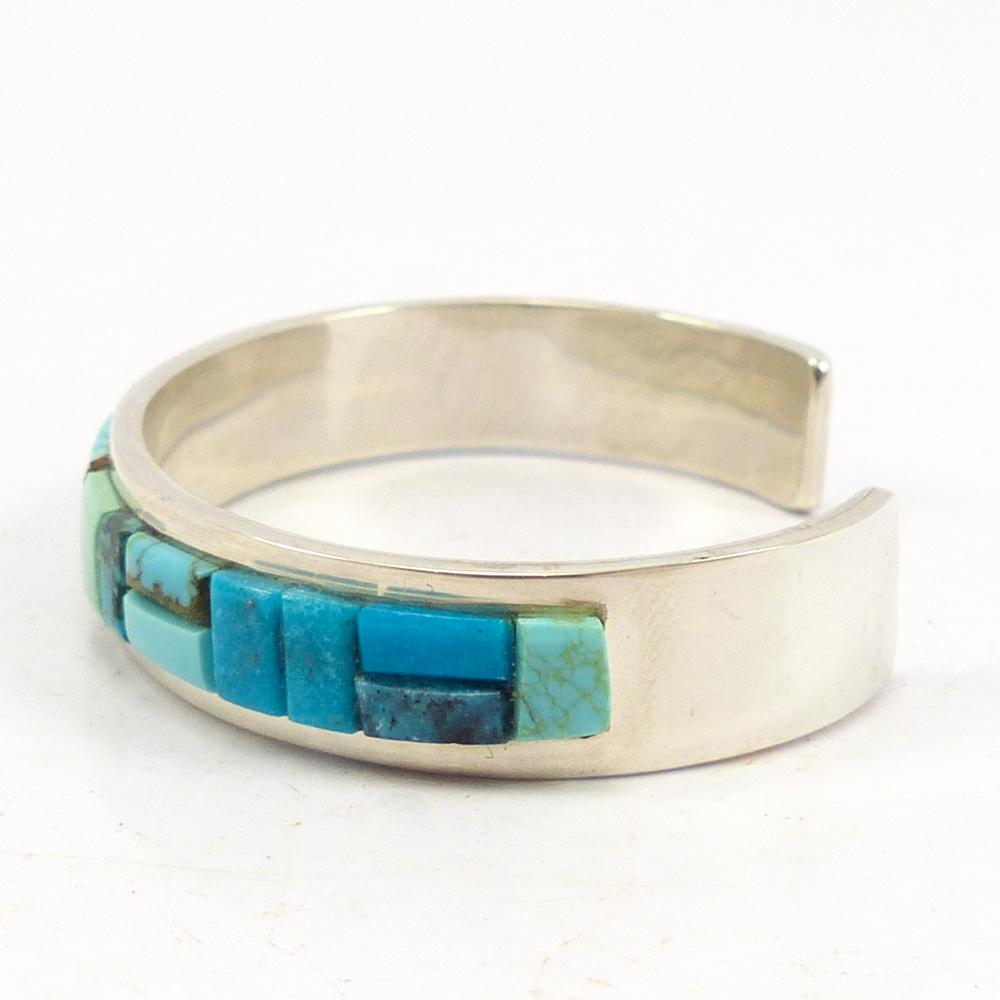 Cobbled Turquoise Cuff