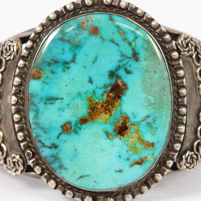 1920s Turquoise Cuff