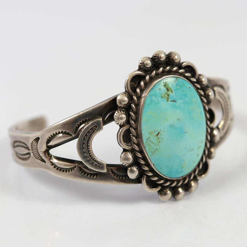 1930s Turquoise Cuff