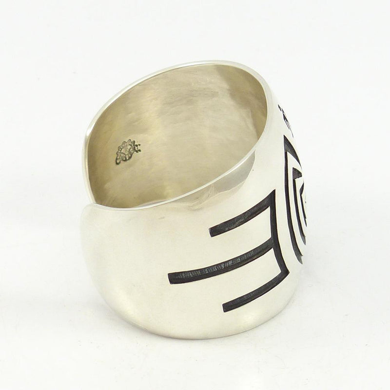 Man in the Maze Overlay Cuff