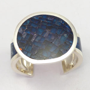 Blue Fluorite Inlay Cuff