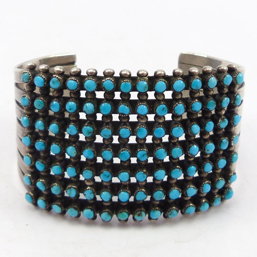 1960s Turquoise Row Cuff