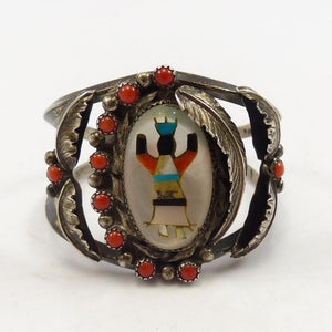 1970s Mosaic Inlay Cuff