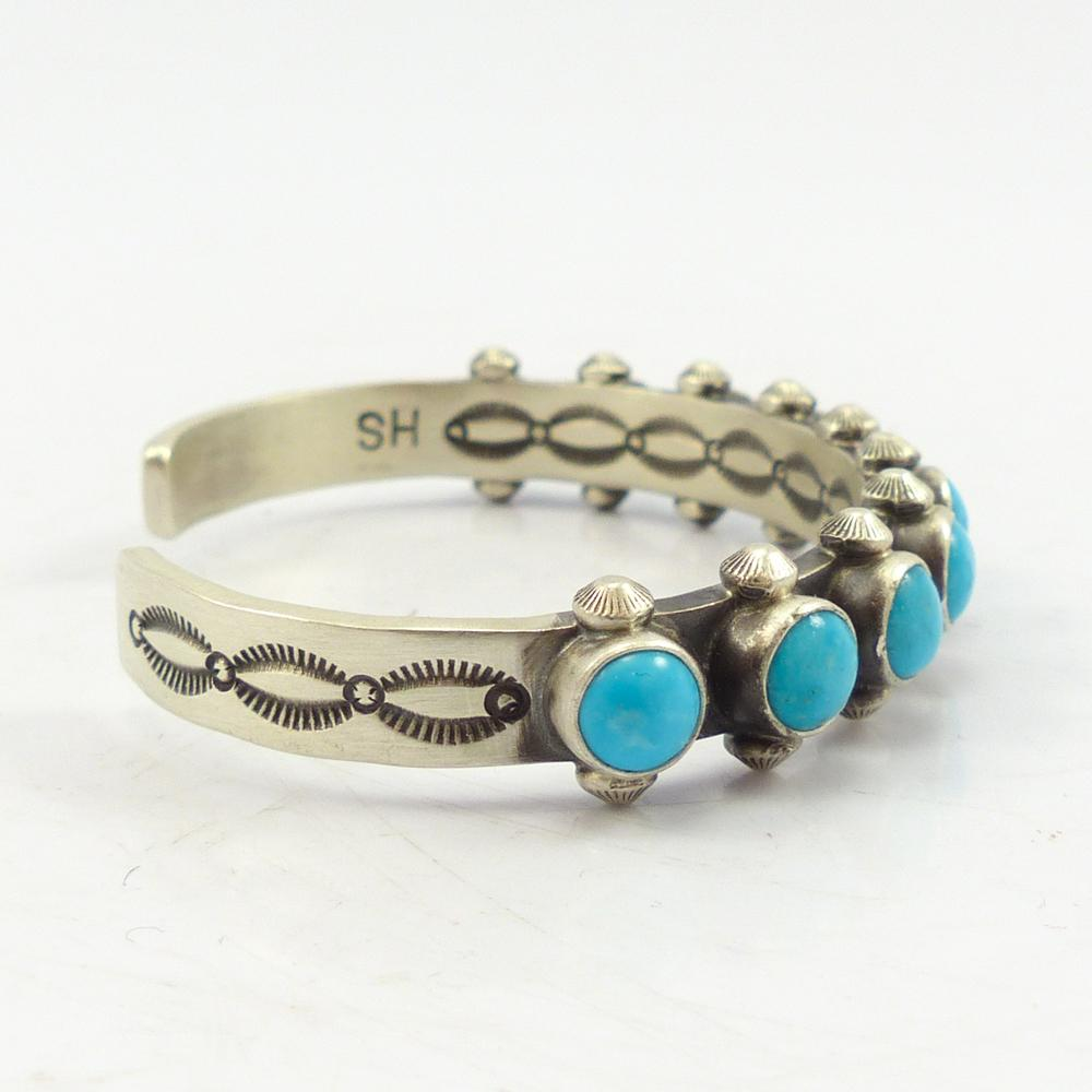 Sleeping Beauty Turquoise Row Cuff