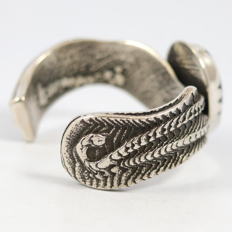 Fossilized Seaweed Cuff